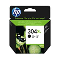 HP 304XL Schwarz Original Druckerpatrone mit hoher Reichweite für HP Deskjet