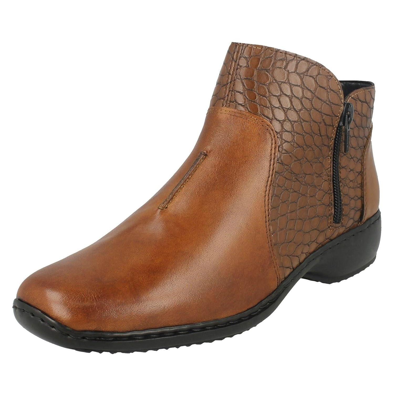c81f923b2cda6 Rieker Women's L3869-24 Composition Leather Ankle Boots: Amazon.co.uk: Shoes  & Bags