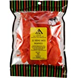 Li Hing Mui Mango - 12 ounce bag - Sweet Dried Ripe Mango sprinkled with Li Hing Mui (plum) powder