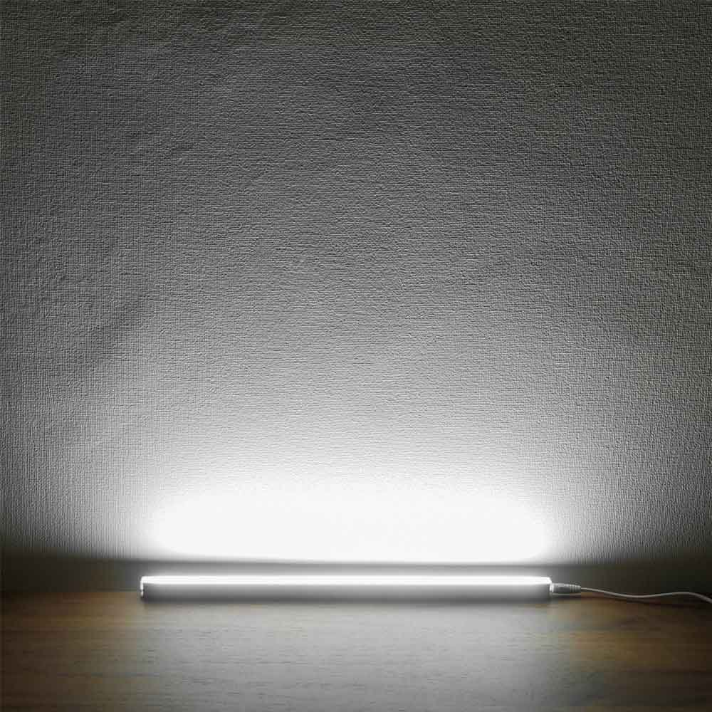 Under Cabinet LED Light Bar USB Powered, Portable LED Under Counter Light for Bookshelf, Computer Desk, Kitchen, Closet, Outdoor Camping, 6W, Cool White 6000K (1 Pack) by Haian Support (Image #5)