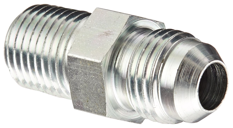 Eaton Weatherhead C5205X6 Carbon Steel SAE 37-Degree (JIC) Flare-Twin Fitting, Adapter, 1/4'' NPT Male x 3/8'' JIC Male (Pack of 8) by Weatherhead