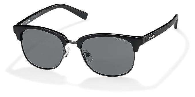 073d926cb92 Polaroid Sunglasses Pld1012s Polarized Round Sunglasses Dark Ruthenium Gray  54 mm
