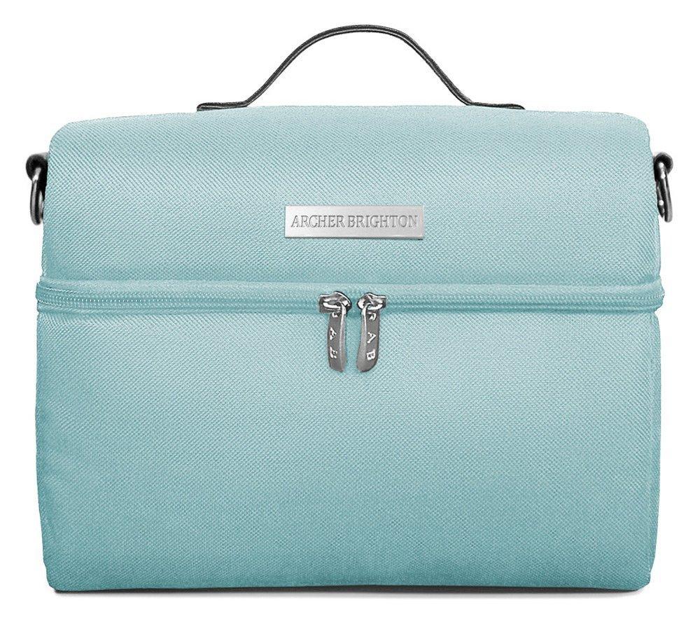 Amazon.com: Professional Insulated Lunch Bag (Aqua-Blue): Kitchen ...