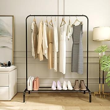 Boden Kleiderbügel einpolige Kleiderstange Innen Garderobe Haushalt ...
