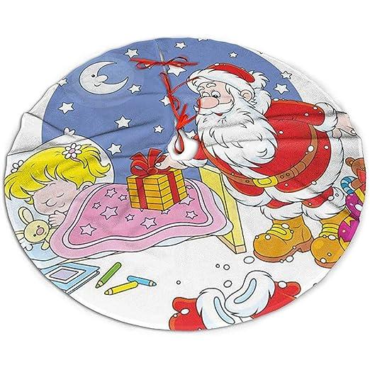 GWrix Navidad Falda del Árbol,Base Arbol Navidad,Christmas Tree ...