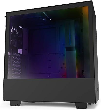 Nzxt H510i Kompaktes Atx Mid Tower Gehäuse Für Computer Zubehör