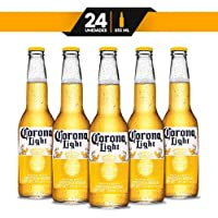 Cerveza Clara Corona Light 24 botellas de 355ml c/u