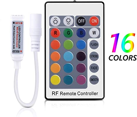3//24//40 Button IR Remote Wireless Controller For 3528 5050 RGB LED Strip Light