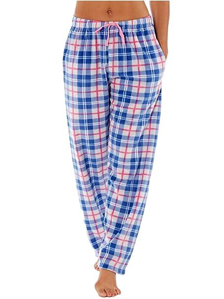 Selena Secrets Trudie - Pantalón de pijama Mujer - Azul - 38/40