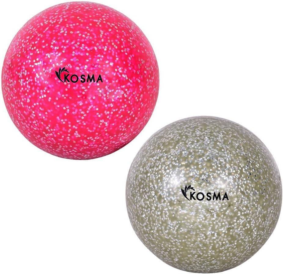 Kosma Glitter Set de 2 pelotas de Hockey | Formación Hockey Ball ...