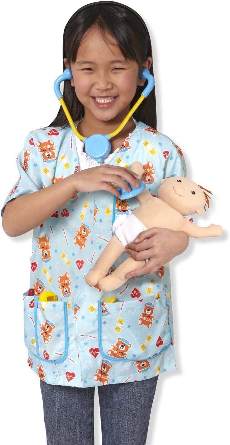 Enfants Melissa and Doug infirmière pédiatrique Fancy Dress Costume Âge 3-6