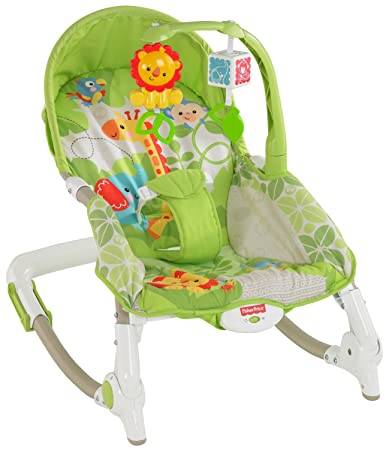 52e61c4ba Amazon.com   Fisher-Price Newborn-to-Toddler Portable Rocker