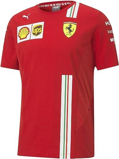 Official Formula one - Scuderia Ferrari 2020 PUMA - Camiseta de equipo - Size:S: Amazon.es: Ropa y accesorios