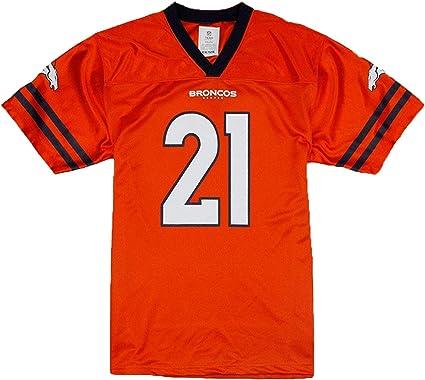 Amazon.com: Outerstuff Aqib Talib Denver Broncos Orange Youth ...