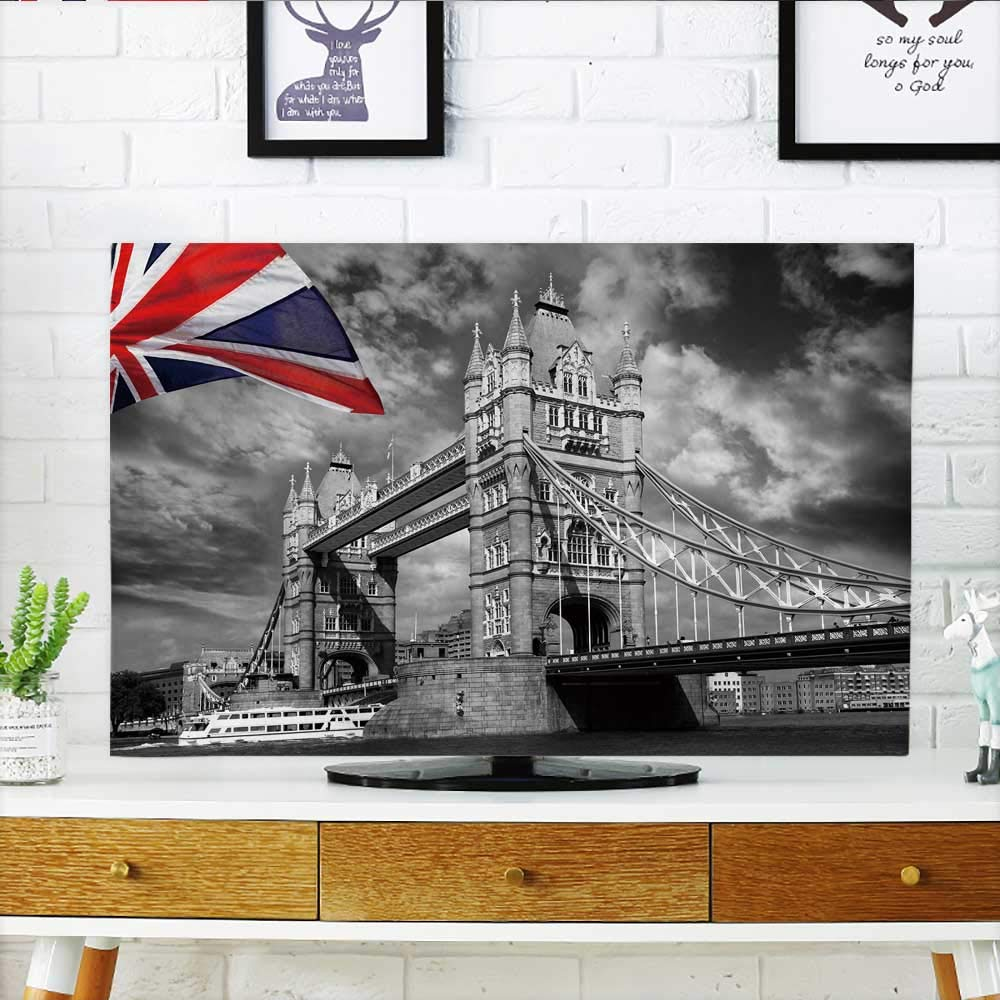 Philiphome Protect Your TV London Skyline Protect Your TV W19 x H30 INCH/TV 32