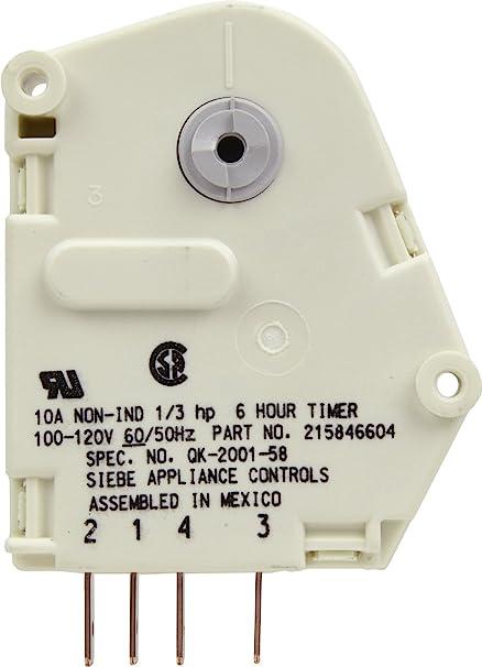 amazon com frigidaire 215846604 defrost timer home improvement frigidaire 215846604 defrost timer