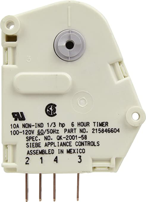 714S8ODHG1L._SY679_ amazon com frigidaire 215846604 defrost timer home improvement Basic Electrical Wiring Diagrams at edmiracle.co