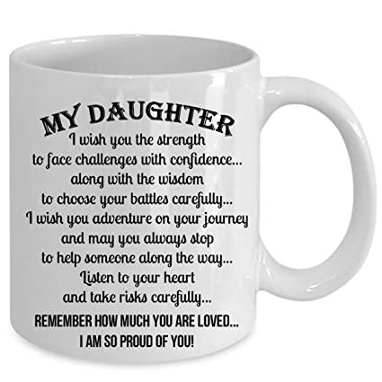 e549576e754a Amazon.com  MY DAUGHTER... REMEMBER HOW MUCH YOU ARE LOVED. I AM SO ...