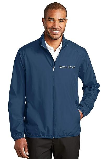 Amazon.com: Chaquetas bordadas personalizadas para hombre ...