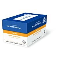 Hammermill Paper, Fore MP, 24lb, 8.5 x 11, Letter, 96 Bright, 5000 Sheets / 10 Ream Case (103283C), Made In The USA