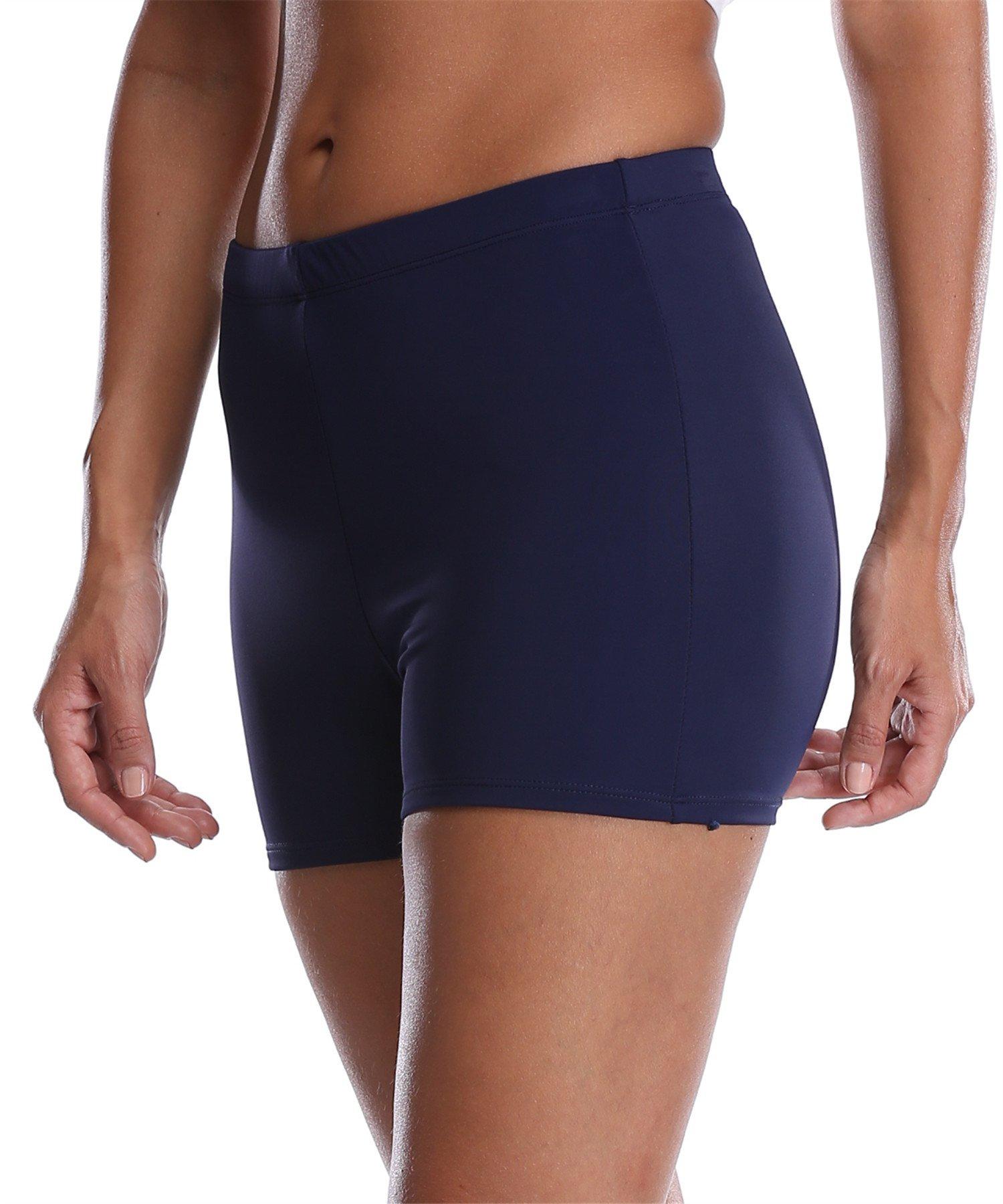 Maysoul Womens Plus Size Beach Swim Shorts Active Training Beach Board Shorts 18