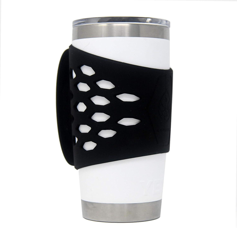 REUZBL Yeti Rambler 20 oz Tumbler Silicone Sleeve with Handle