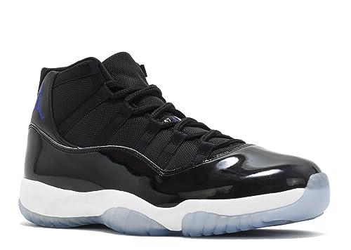 Air Jordan 11 Retro Space Jam Black White Scarpe da Basket Uomo ... 8e1cdc2c506