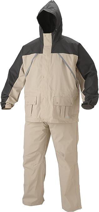 Amazon.com: Traje de nailon/PVC Coleman para lluvia: Sports ...