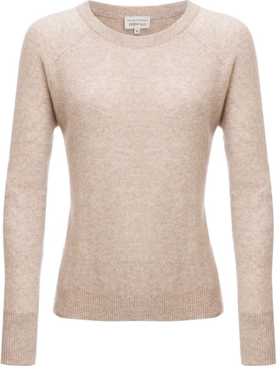 ホワイト+ウォーレンのエッセンシャルスウェットシャツ - レディース Sand Wisp Heather Medium