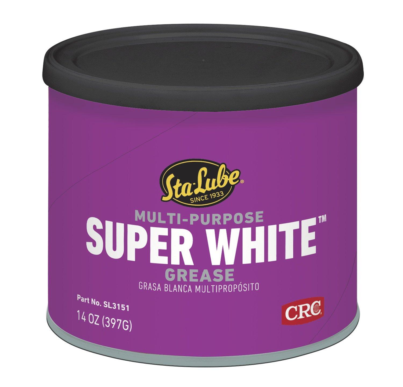 CRC SL3151 Super White Multi-Purpose Lithium Grease - 14 wt. oz.
