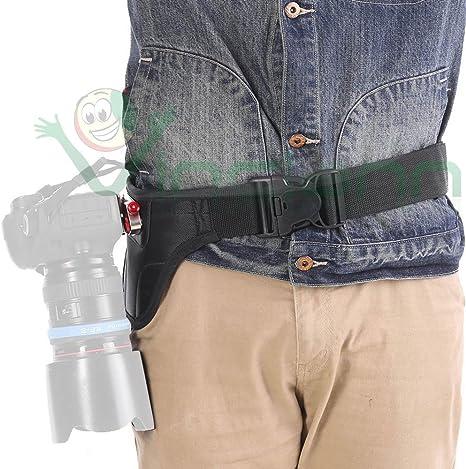 Canguro soporte cinturón Holster cámara DSLR cámara de fotos ...