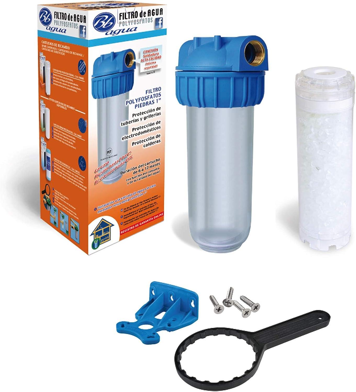 Filtro de agua de polifosfatos piedras 1