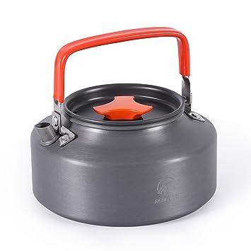 Amazon.com: REDCAMP 1.1L/1.6L Hervidor de agua de camping al ...