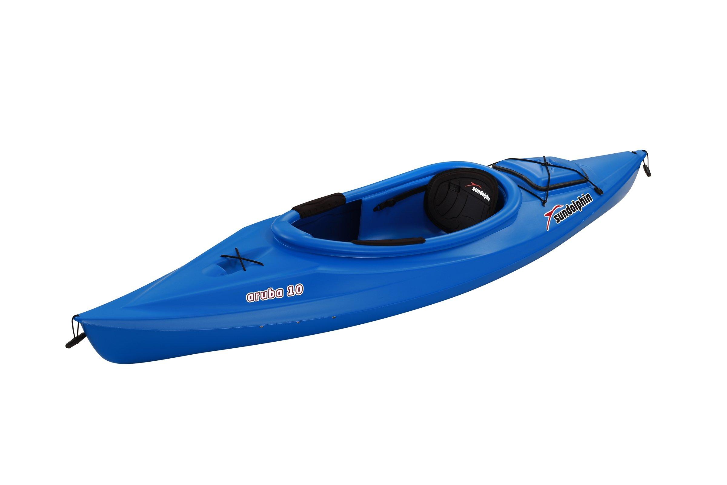 Sun Dolphin Aruba Sit-in Kayak (Blue, 10-Feet) by Sun Dolphin