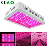 MRJ 1000W (Double Chips 10W LEDs) LED Grow Light Full Spectrum IR, UV, Red, Blue, White For Indoor Plants Growing