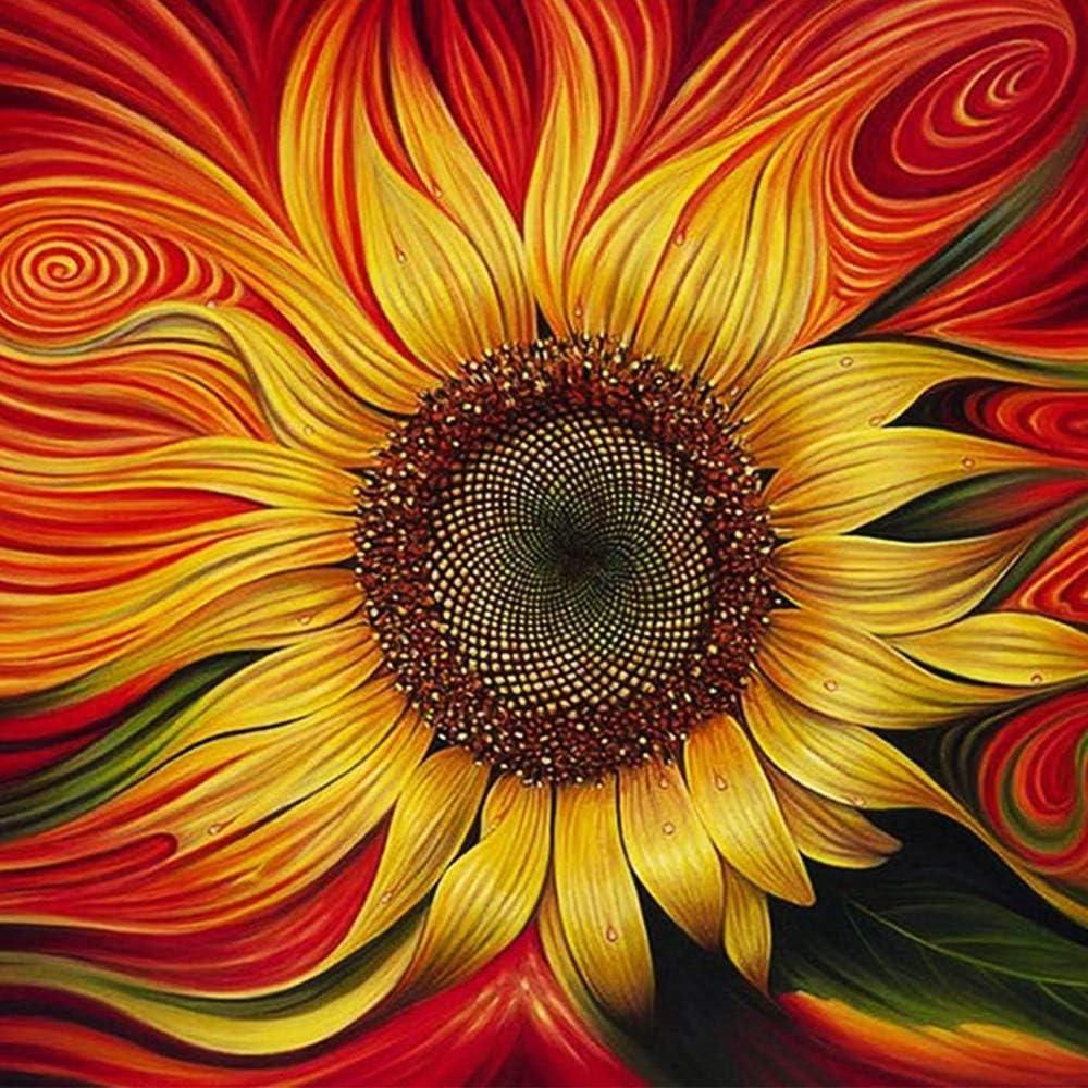 DIY 5D Diamond Painting Kit Full Drill Flower Embroidery Cross Stitch Art Craft