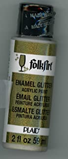 product image for FolkArt Glitter Paint in Gold (2 oz)