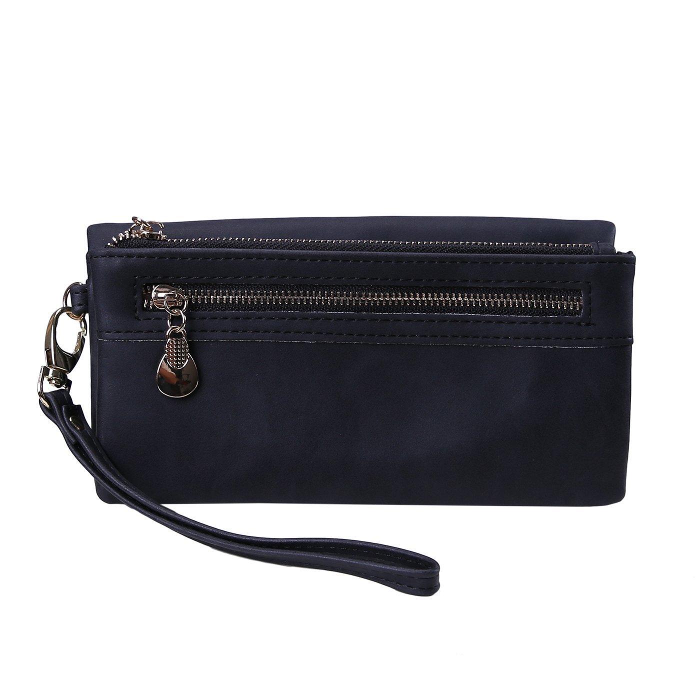 HDE Women's Leather Wallet...