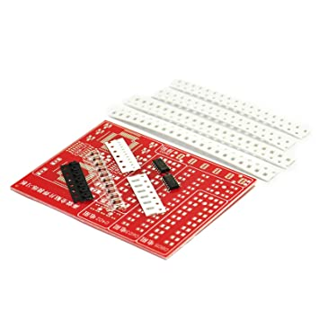 Gikfun SMD SMT componentes práctica Junta Kit de soldadura Skill formación principiante DIY ek1674: Amazon.es: Electrónica
