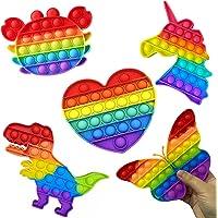 Brinquedo Pop It Quadrado Colorido Anti Stress Sensorial Aumenta Criatividade [FIT IT]