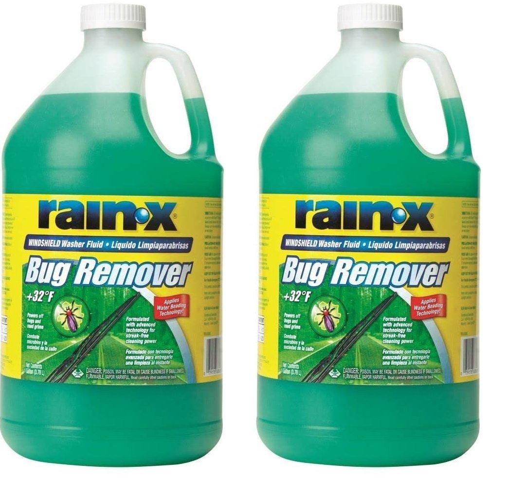 RainX RX68806 Rain-X Bug Remover etxWuf, 2Pack
