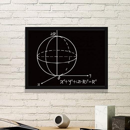 DIYthinker Matemáticas Conocimiento tiende Esfera Simple ecuación ...