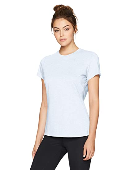 7795d8084626a Amazon.com: New Balance Women's Heather Tech Reflective Tee: Clothing