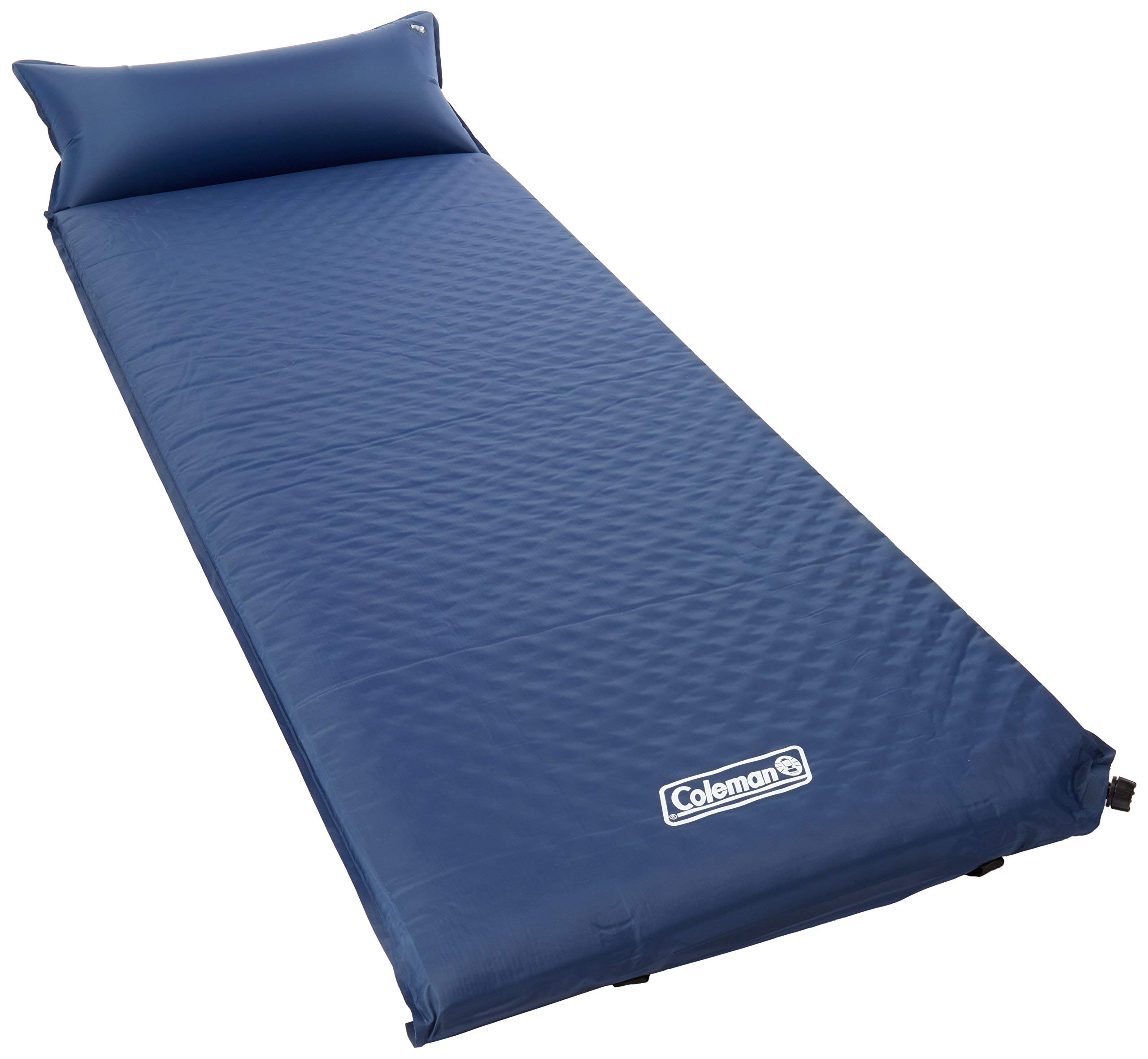 Coleman Self-Inflating Camping Pad with Pillow (Renewed) by Coleman