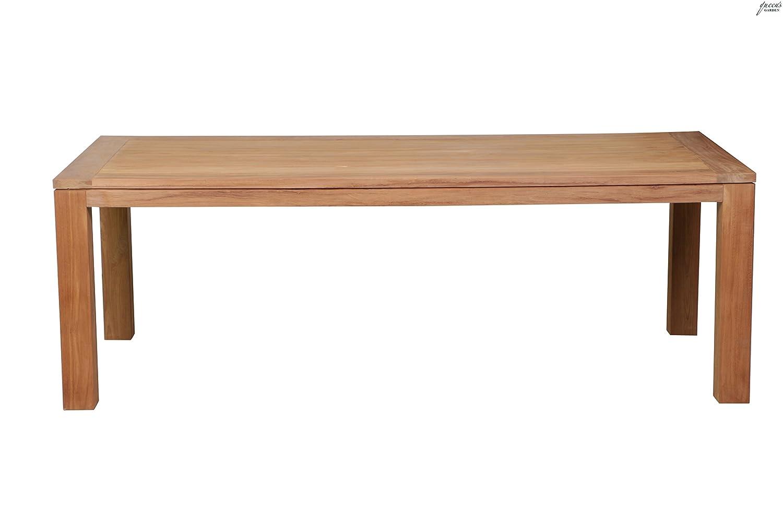 Queen´s Garden 819413 Nelson Tisch recycletes Teakholz FSC®-zertifiziert Tischbein 10x10