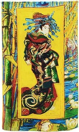 Prettystern - 160cm Bufanda de seda de reproducción de la pintura Impresionismo - van Gogh - diferentes diseños
