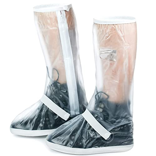 b66eb8afeea8a Galashield Rain Shoe Covers Waterproof and Slip Resistance Galoshes Rain  Boots Overshoes