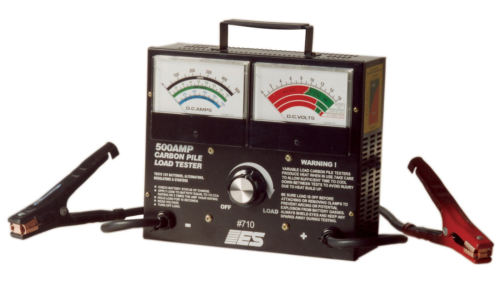 ESI 710 500 Amp Carbon Pile Load Tester by Electronic Specialties (Image #1)