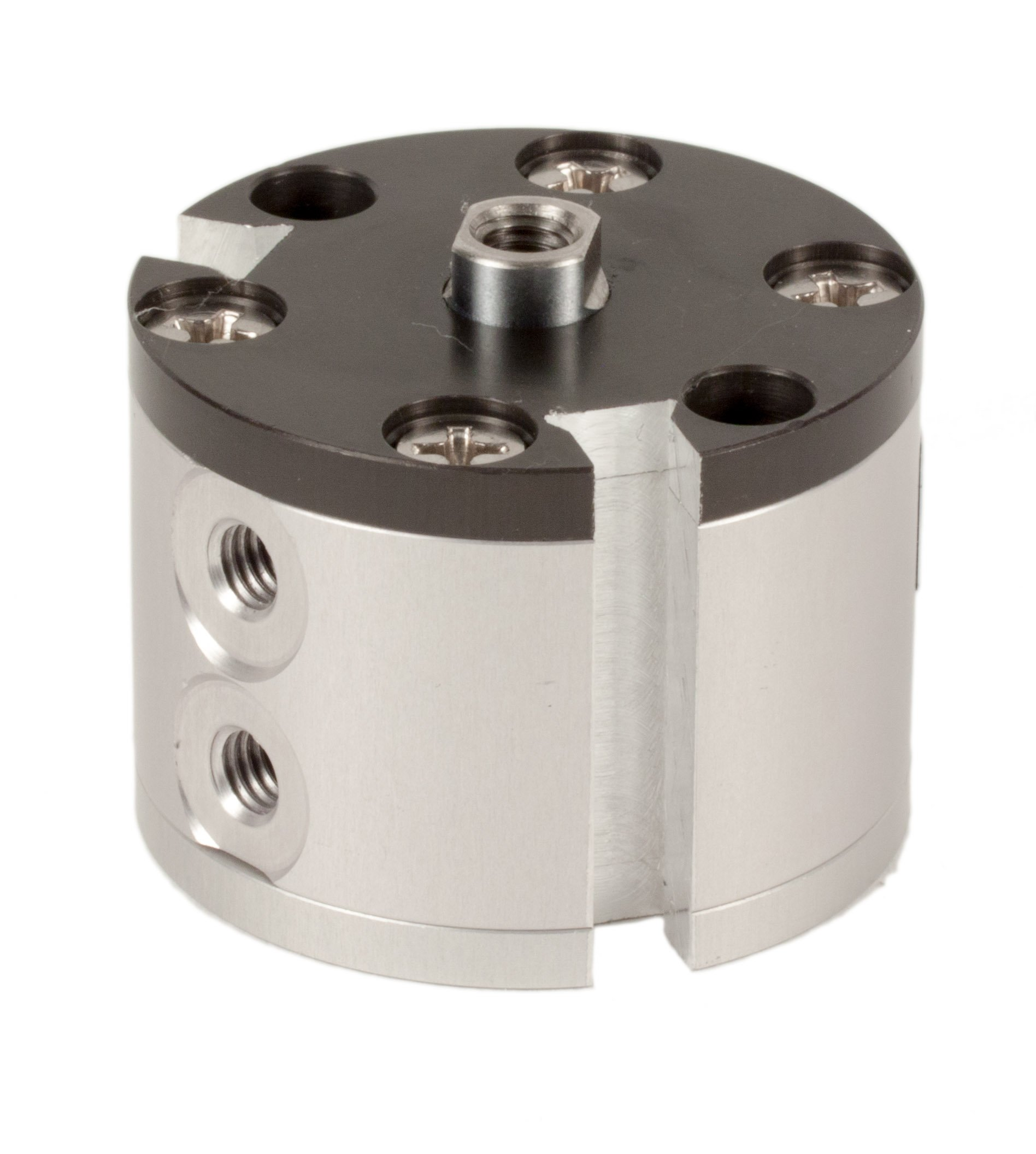 Fabco-Air E-7-X-E Original Pancake Cylinder, Double Acting, Maximum Pressure of 250 PSI, Switch Ready with Magnet, 3/4'' Bore Diameter x 1/2'' Stroke