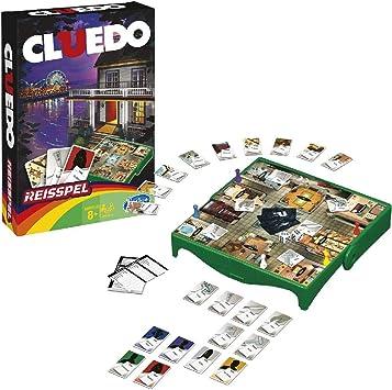 Hasbro 0607011 Juego de Viaje Cluedo: Amazon.es: Juguetes y juegos